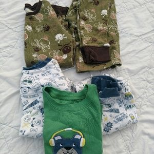 Boys 5t pajama lot